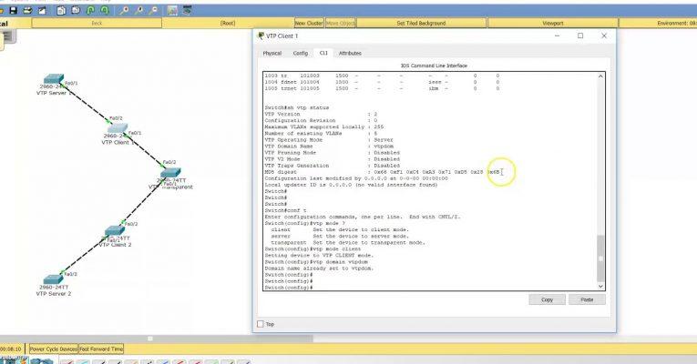 CCNA 2.5.d: VTP (v1&v2) – VLAN Trunking Protocol